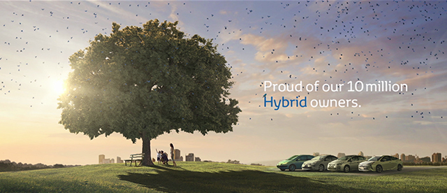 Proud of our 10 million Hybrid owners.